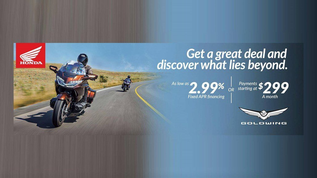 Honda - 2018 Gold Wing as Low as $299 / Month for 72 Months